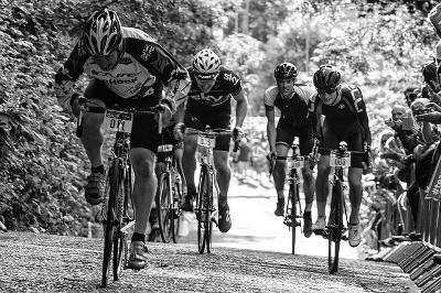 Aerobic Cycling Uphill